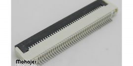 کانکتور FPC 0.5MM 50Pin ZIF