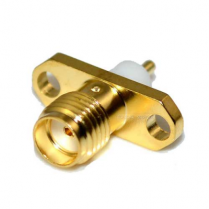 SA6725 SMA FEMALE PCB Mount 2HOLE RF Connector